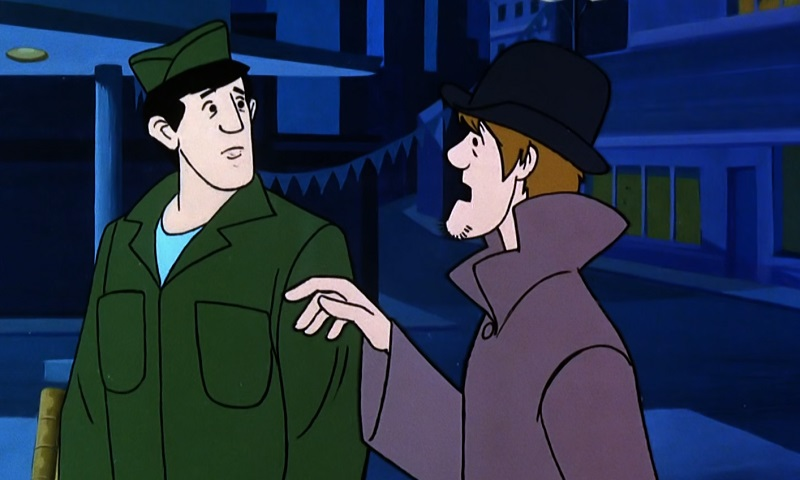 Charlie and Shaggy