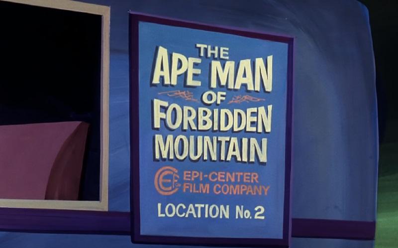 Ape Man of Forbidden Mountain