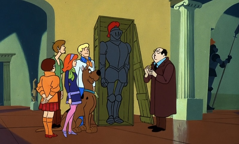 Mr. Wickles and the Scooby Gang