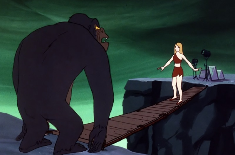Ape Man and Candy