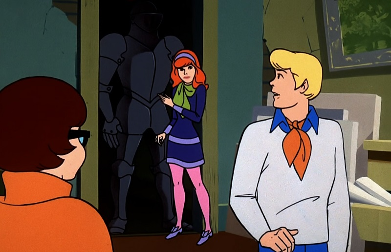 Daphne and the Black Knight