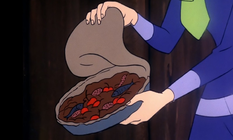 Cherry Anchovies Pie