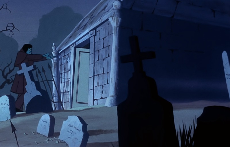 Mausoleum and Ghost of Elias Kingston