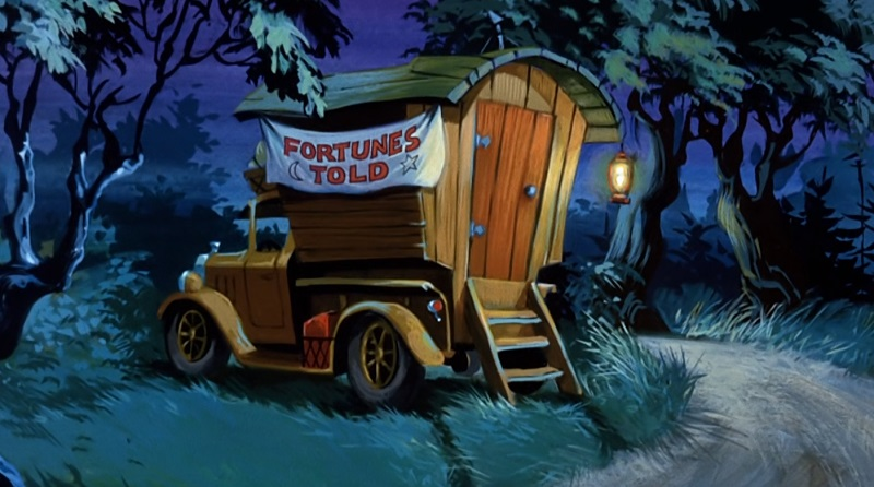 Fortune Teller Wagon