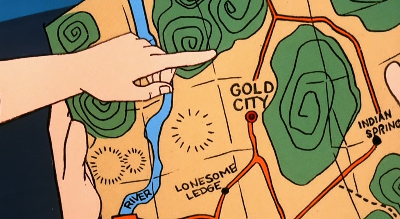 Gold City Map