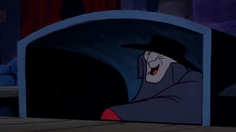 Phantom in prompter box