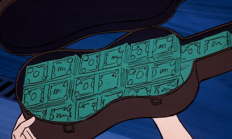 Violin Case full of money