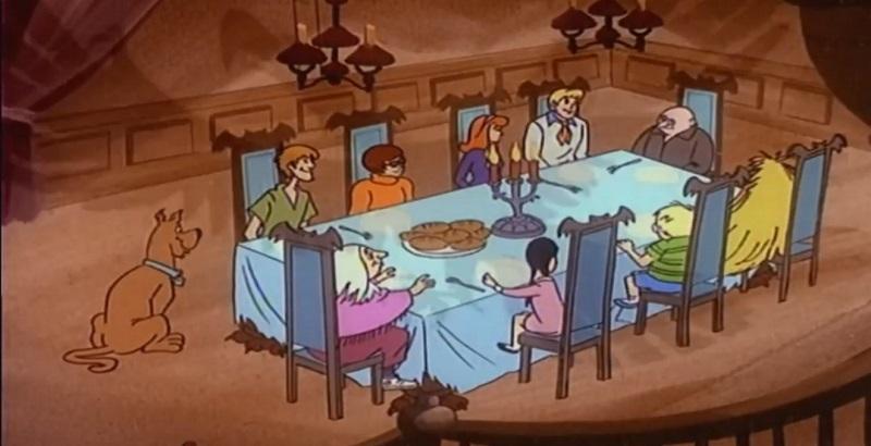 Addams Family Dinner