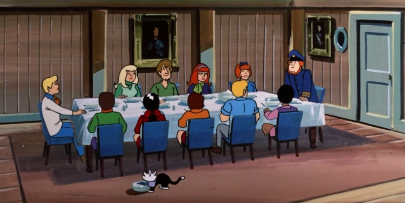 Dinner with Scooby
