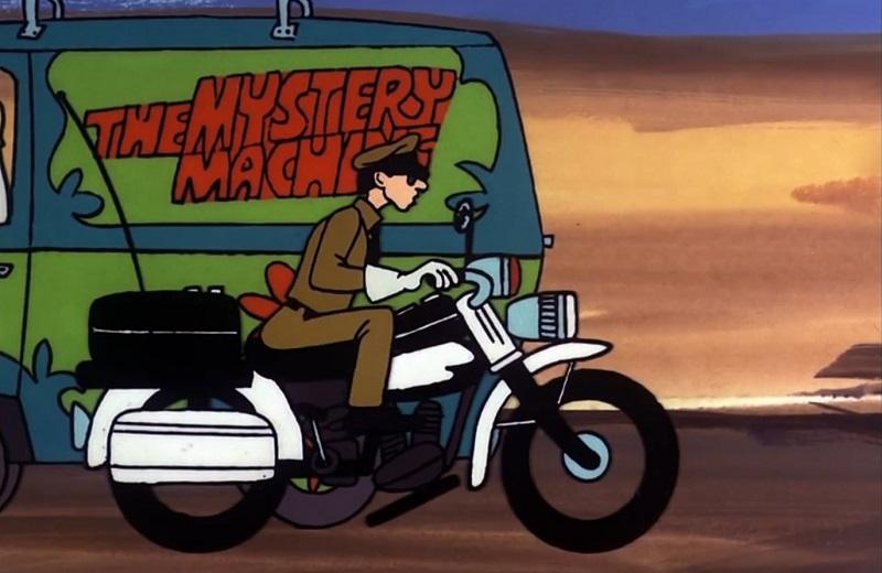 Don Knotts on Scooby Doo