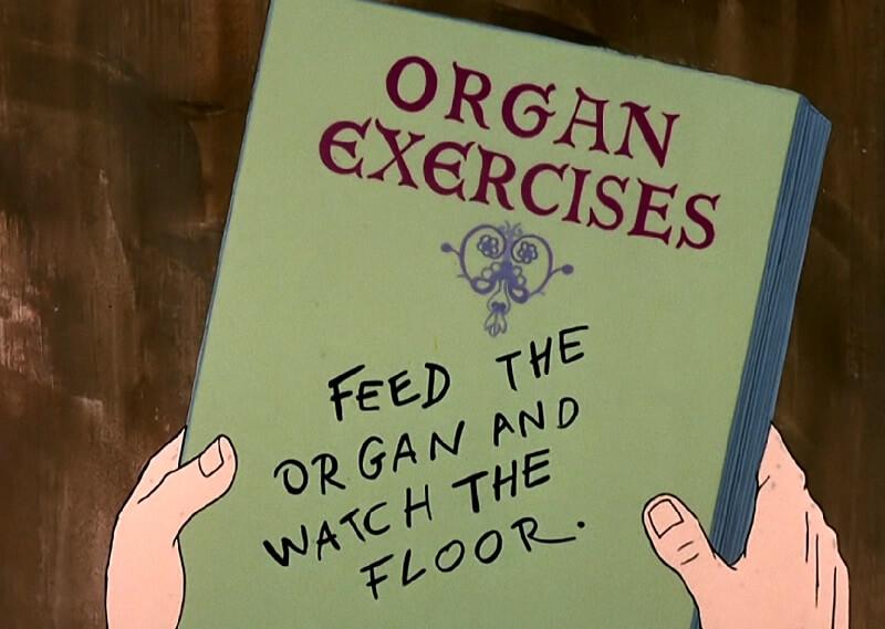 Organ Exercises