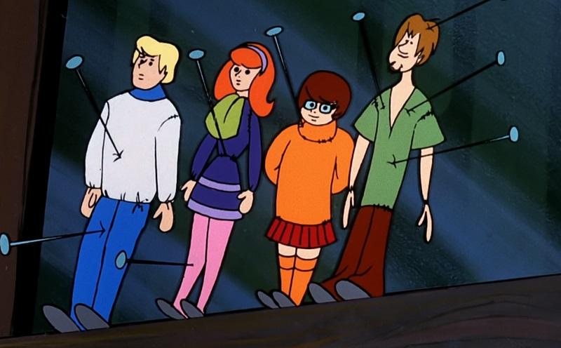 Scooby gang voodoo dolls