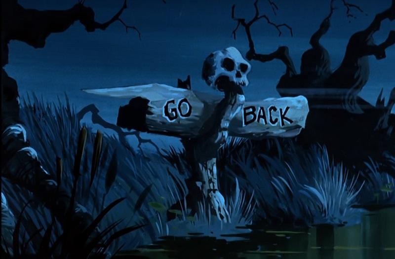 Go Back - Sign