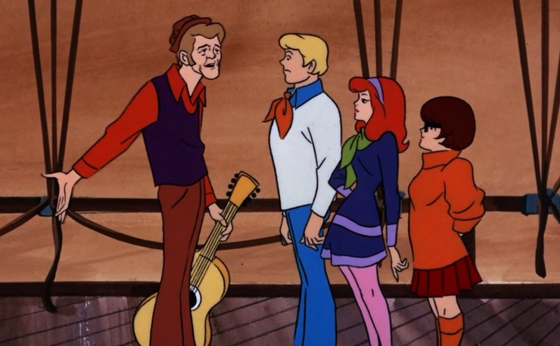 Jerry Reed and Scooby Gang