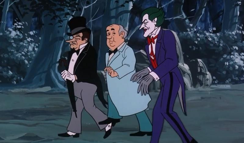Penguin, Professor Flakey, Joker