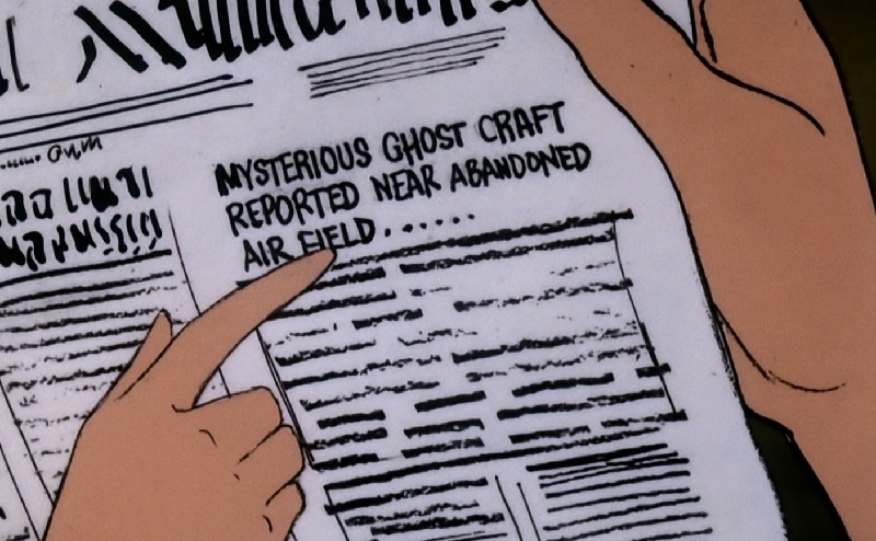 Newspaper article on ghost craft