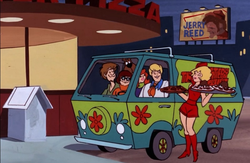 Scooby and Pizza