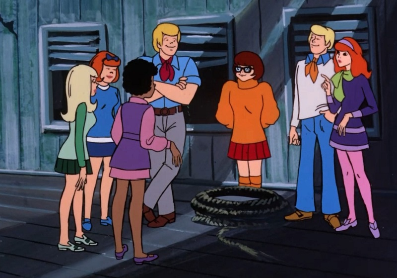 The Scooby Gang Meets Josie and the Pussycats
