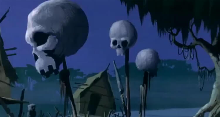 Skulls on Sticks