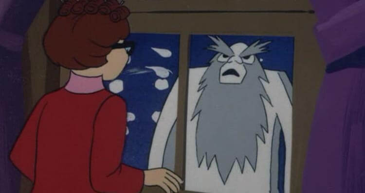 Velma and Ghost of Bigfoot