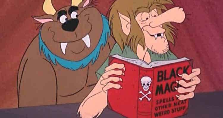 Shaggy and Scooby as monsters