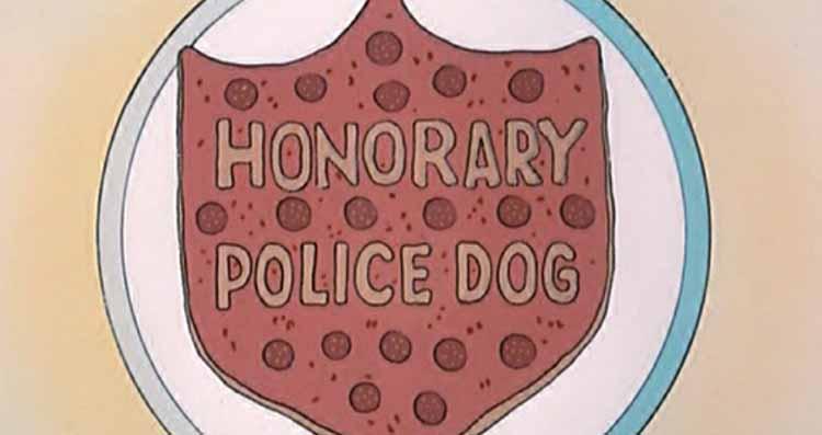 Honorary Police Dog