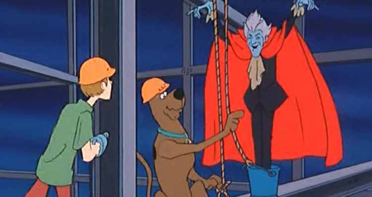 The Spectre Haunts Scooby and Shaggy