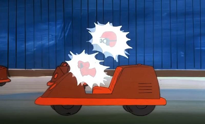 bumper car ghost