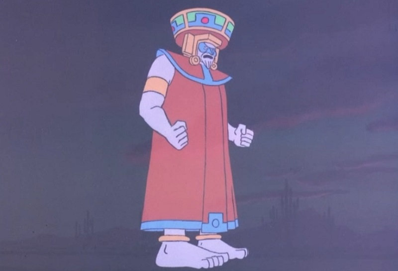 laughing Aztec God - Katazuma